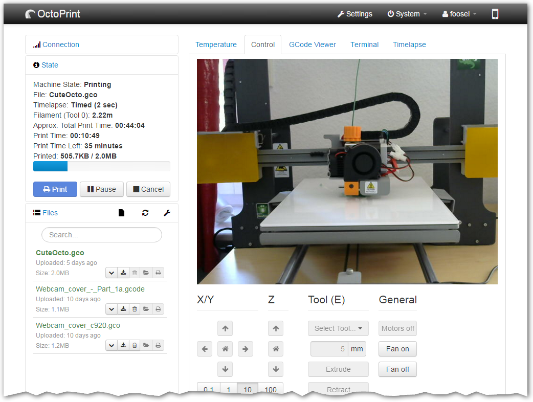 OctoPrint can do? – Mechasolution community